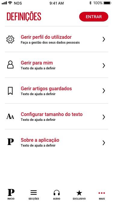 Final screens publico app